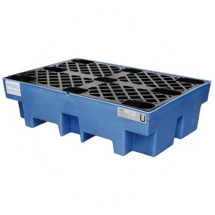 2-barrel tray