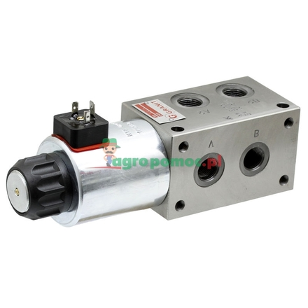 6/2 directional control valve base valve 12V
