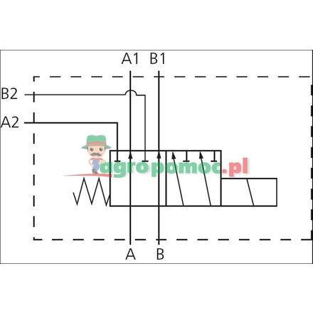6/2-way valve complete SWV-E-WS | SWV-E-WT
