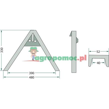 A-frame linkage