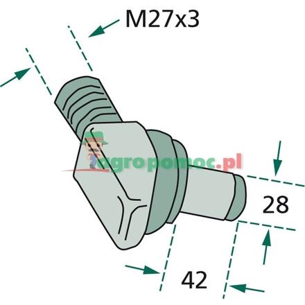 Angle screw | 199870040031