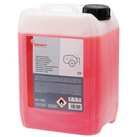 Antifreeze concentrate for field sprayers