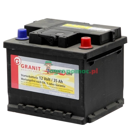Battery 12V 36Ah filled | 53621, 53654, 53653