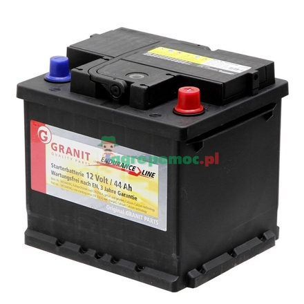 Battery 12V 44Ah filled | 54423, 54434, 54583