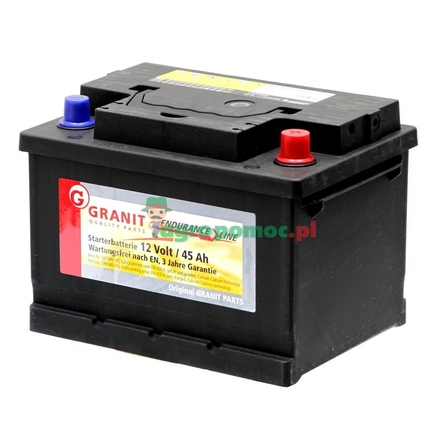 Battery 12V 45Ah filled | 54045, 54533