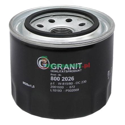 Engine oil filter | B1421