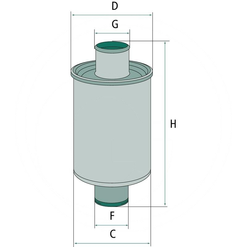 Hydraulic / transmission oil filter | RT6005007631
