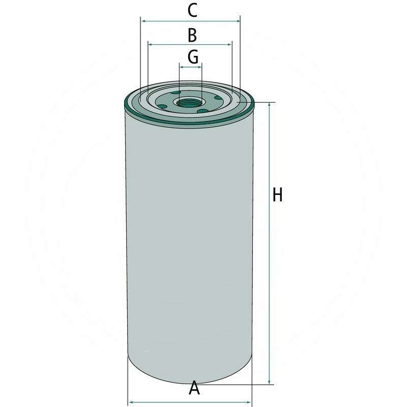 Hydraulic / Transmission oil filter | 6661248