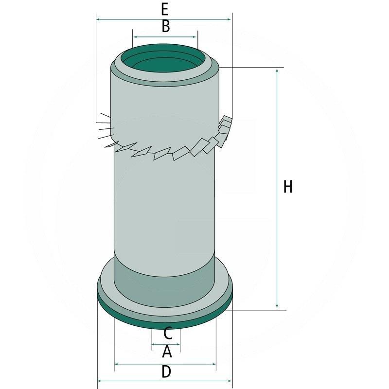 Air filter | 565C16334 | zdjęcie nr 2