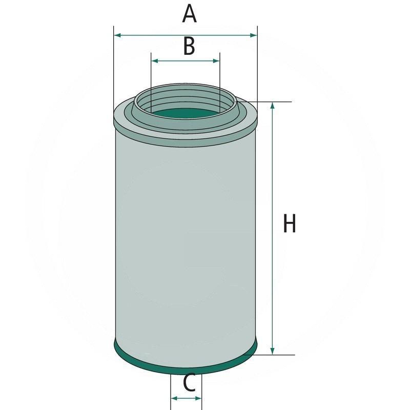 Air filter | 565C23440.1 | zdjęcie nr 2