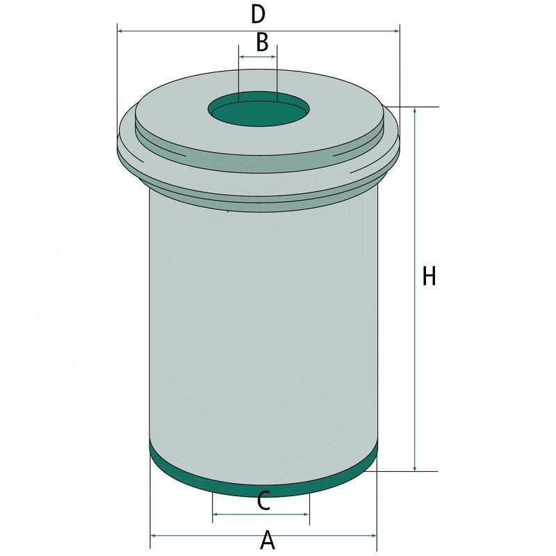Air filter | 565C17225 | zdjęcie nr 2