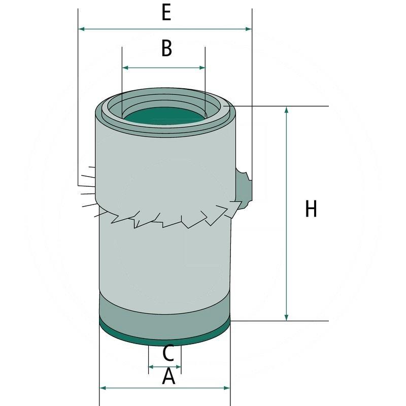 Air filter | 565C16302 | zdjęcie nr 2