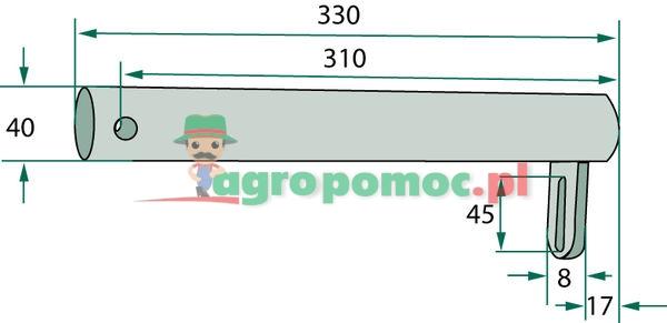Bearing tube | 16606441.86, 16606441.80 | zdjęcie nr 2