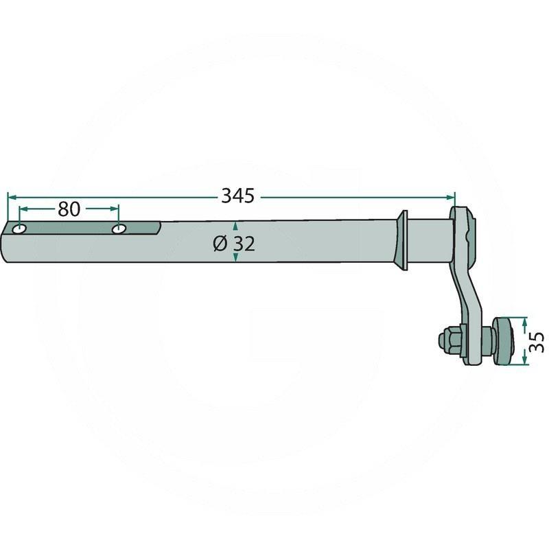 Control lever | 06563320 | zdjęcie nr 2