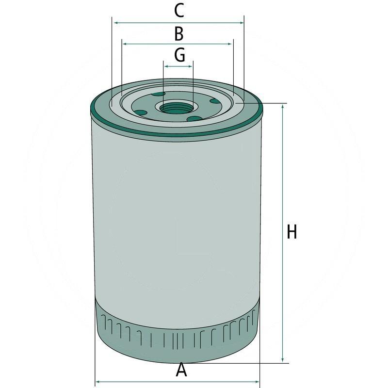 Engine oil filter   B143   zdjęcie nr 2