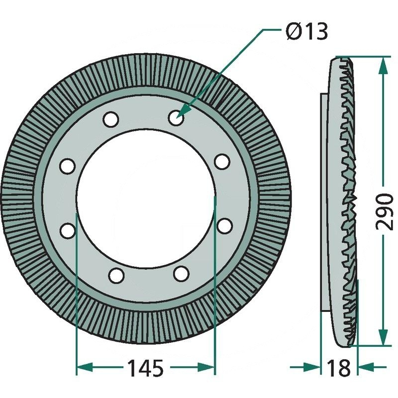 Ring gear | 16609809, 06563313 | zdjęcie nr 2