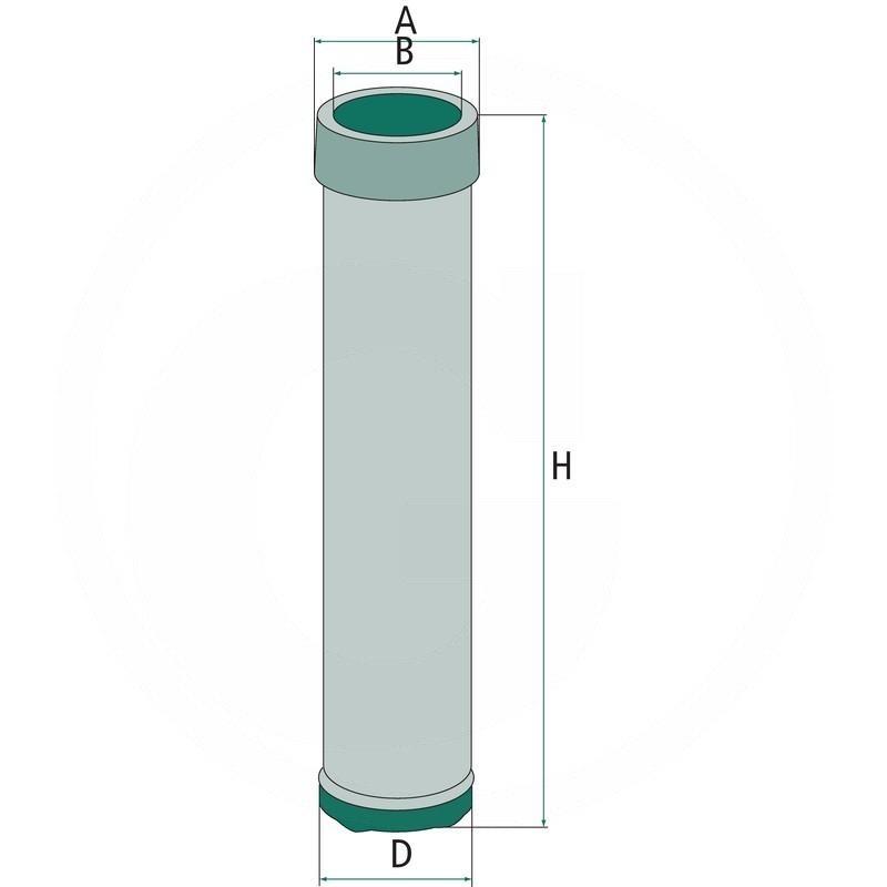 Secondary air filter | 565CF15116 | zdjęcie nr 2