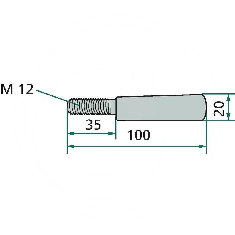 Wedge screw | 06564088 | zdjęcie nr 2