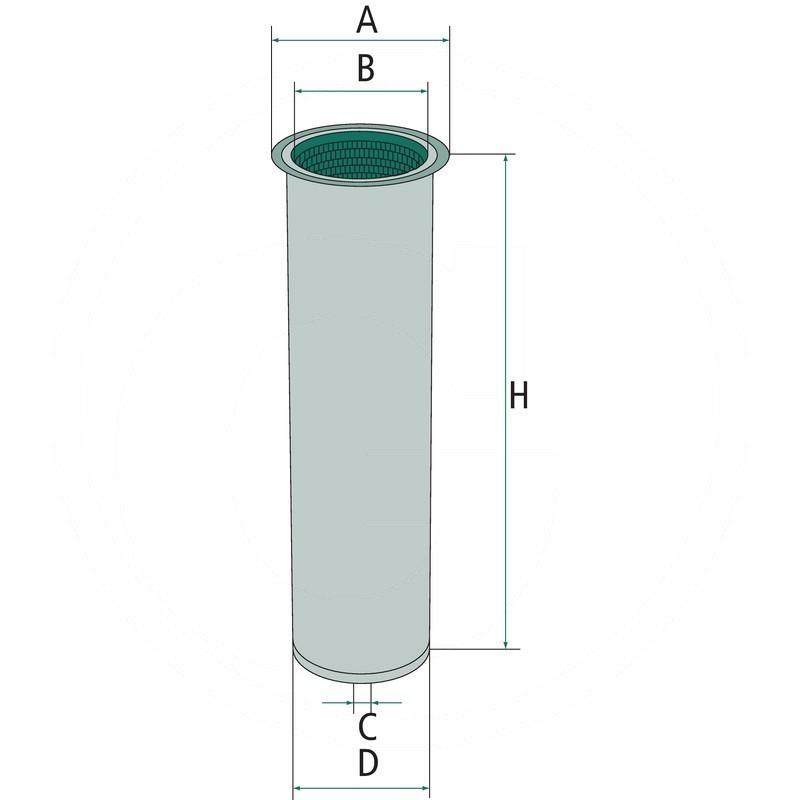 Secondary air filter   zdjęcie nr 1