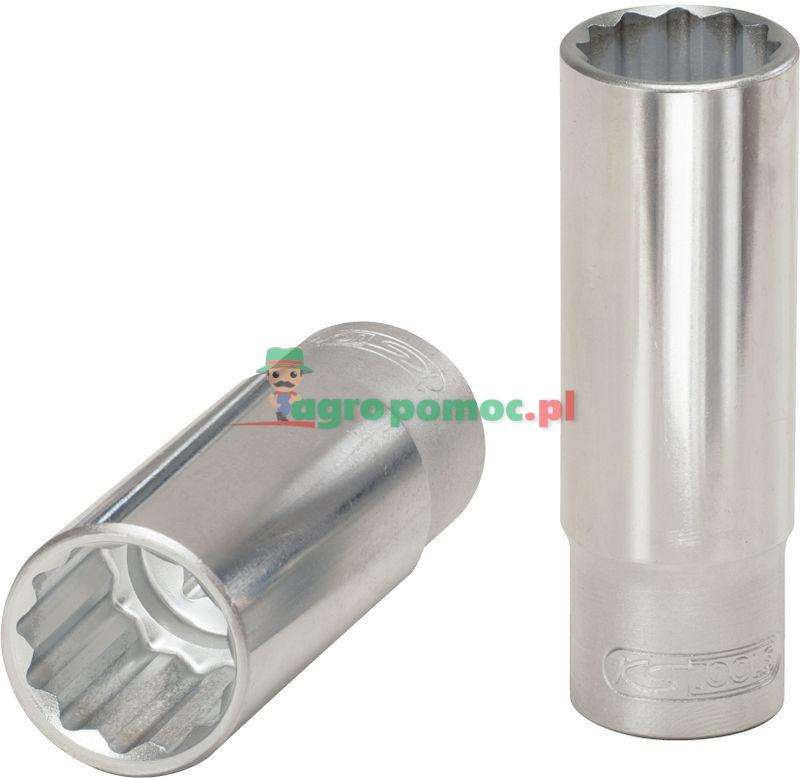 KS Tools Bi Hex Socket Deep 1 2 9 16