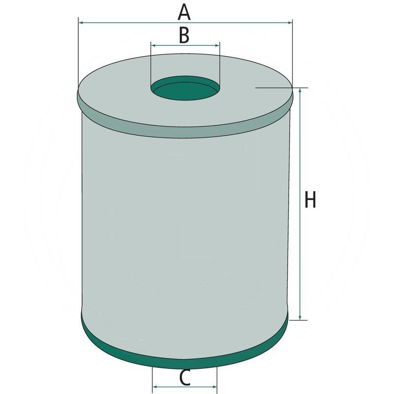 Engine oil filter | 565H1060N