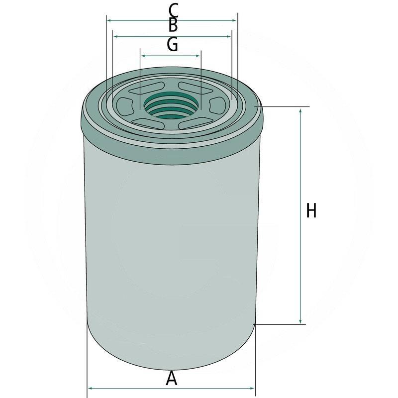 Hydraulic / transmission oil filter | 1-32-575-302