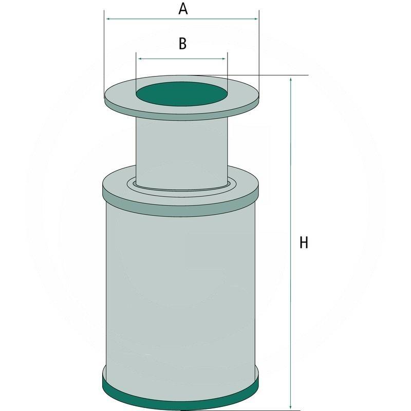 Hydraulic / transmission oil filter | 20639610