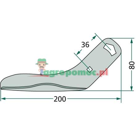 Sliding base | 953818, 3993300