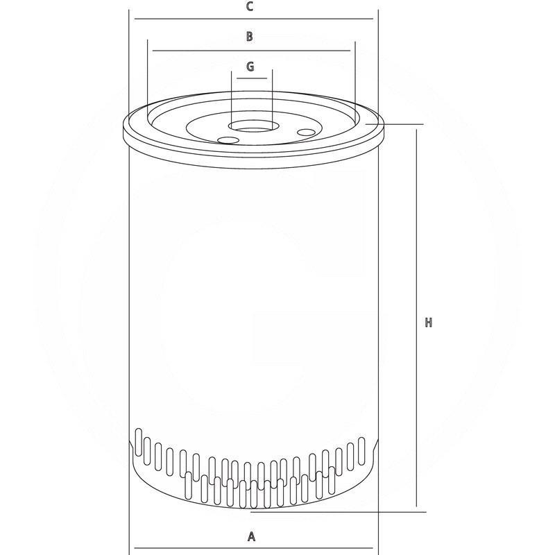 fuel filter  8001010