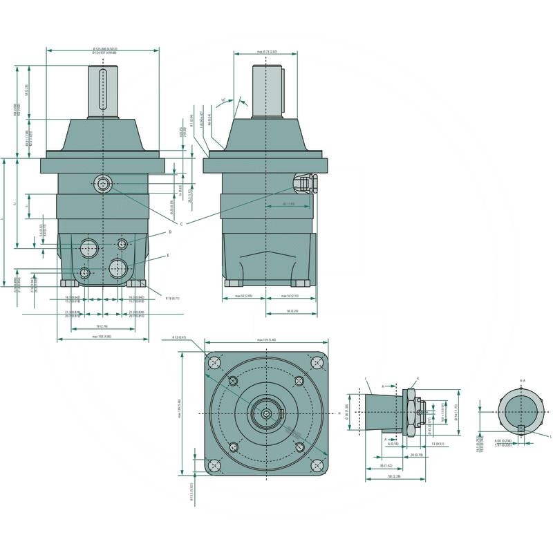 Danfoss hydraulic motor omsw 80 257151f0528 spare for Danfoss hydraulic motor catalogue